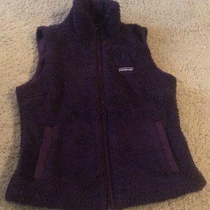 Jackets & Blazers - Purple Patagonia vest
